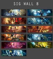 Sig Wall 8 by Uberkayt