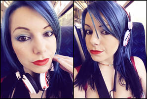 And then I had blue hair by Uberkayt
