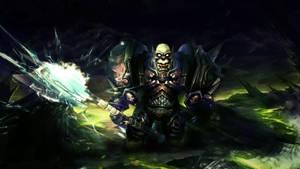 Orc DK Wallpaper by Uberkayt