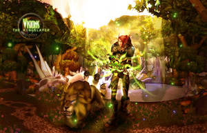 Blood Elf Hunter Background by Uberkayt