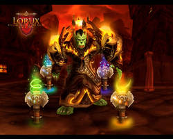 Orc Shaman Background by Uberkayt