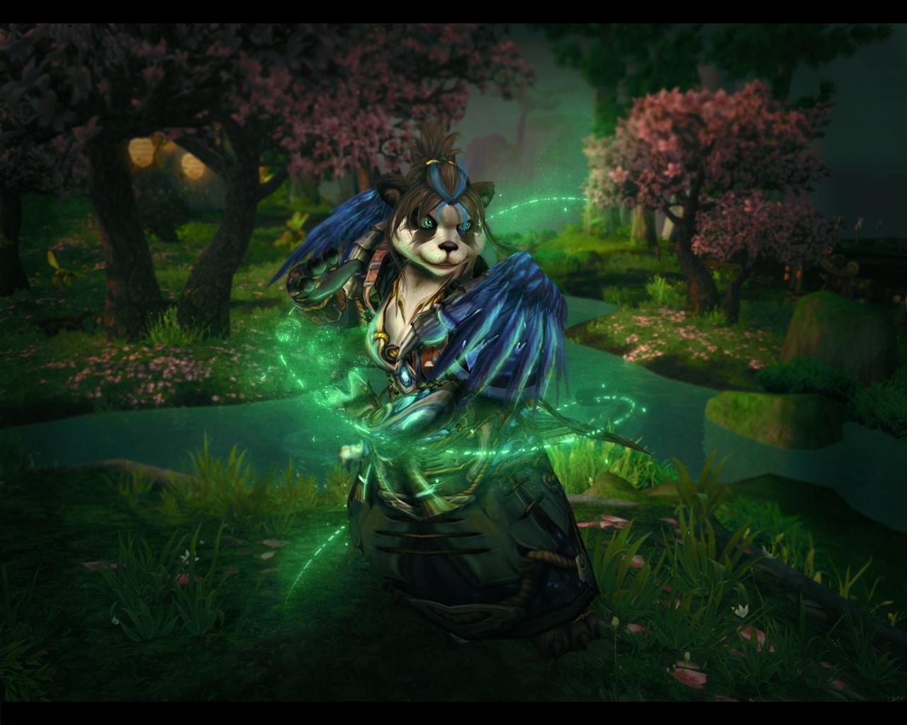 Jungle Wallpaper World Of Warcraft: Panda Monk Wallpaper 2 By Uberkayt On DeviantArt
