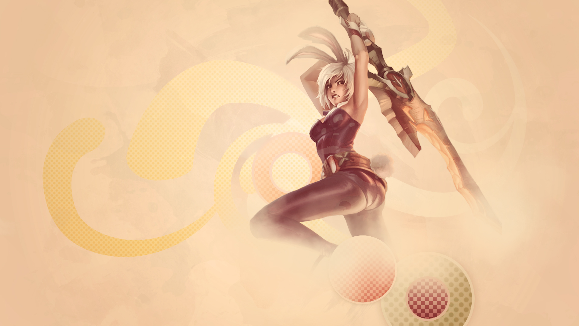 Battle Bunny Riven Wallpaper By Uberkayt