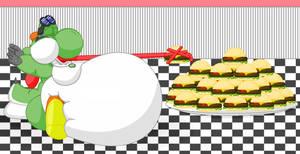 The_yoshi Eating Burgers