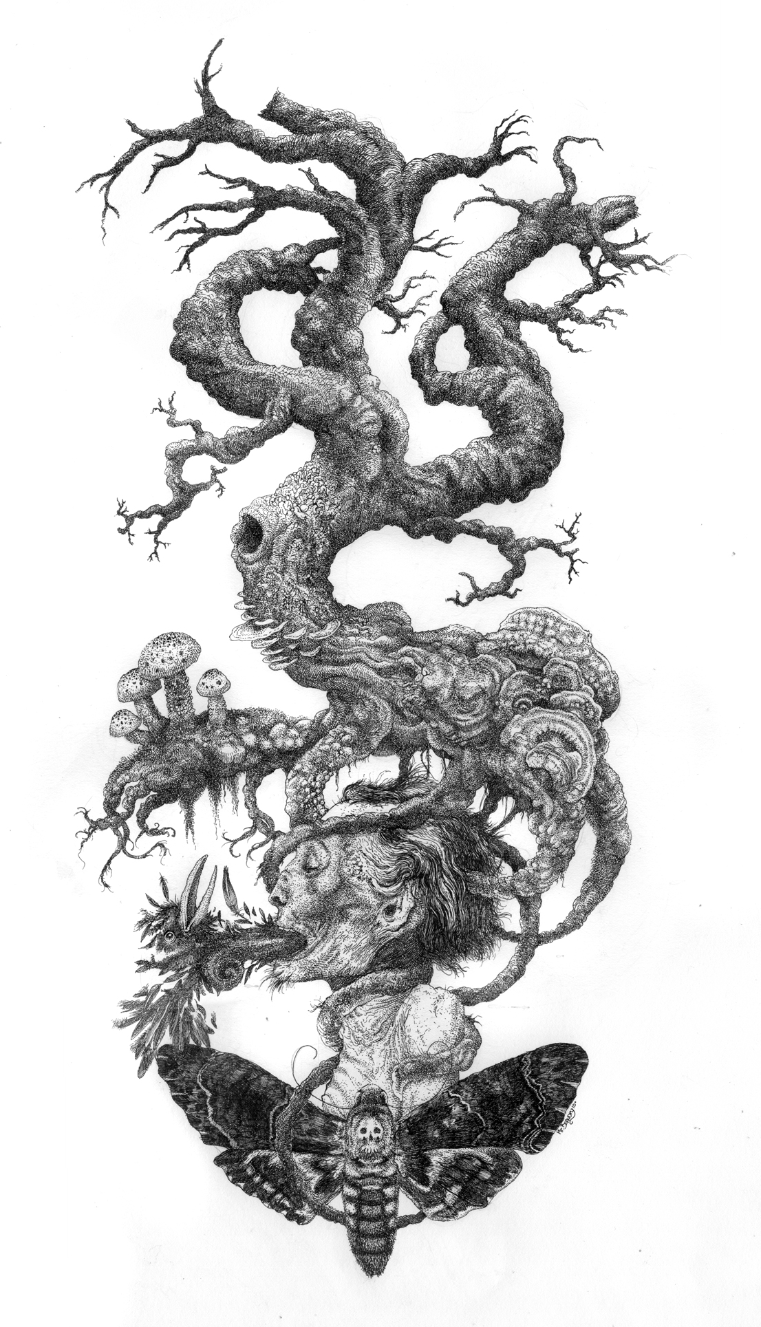 The Tree of Death by urielstempest
