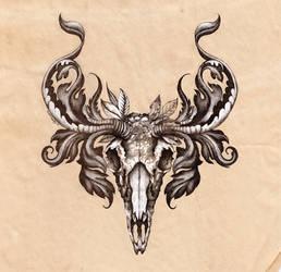 Deer Skull.