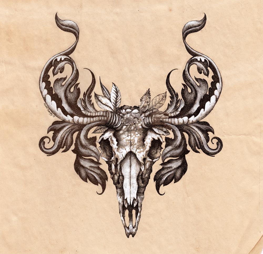Deer Skull By Urielstempest On DeviantArt