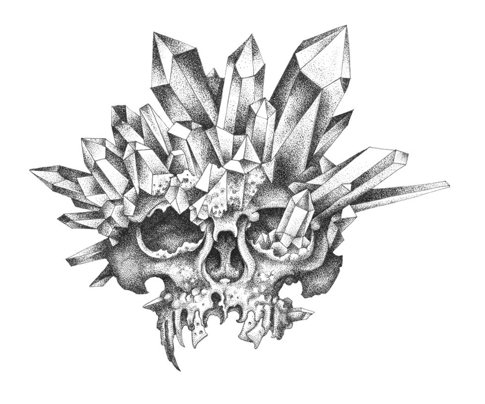 Crystal Skull by urielstempest