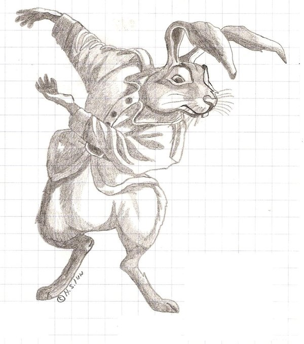 Basil Stag Hare