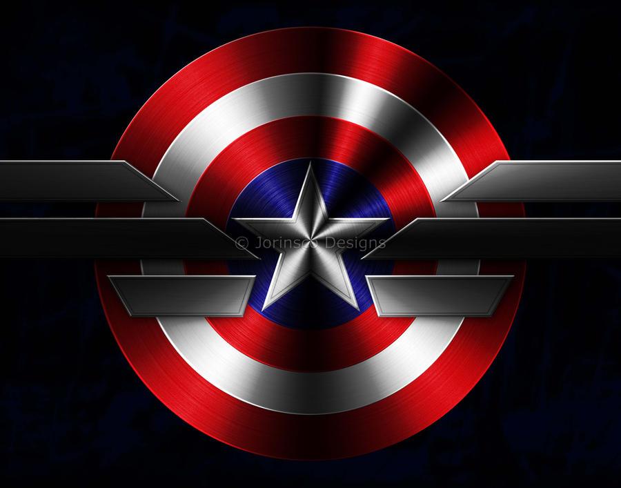captain america shield and uniform logobucklewinner on deviantart