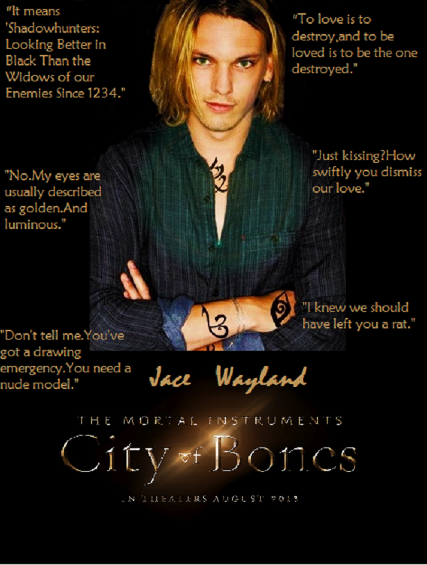 City Of Bones Quotes Jace Wayland. QuotesGram