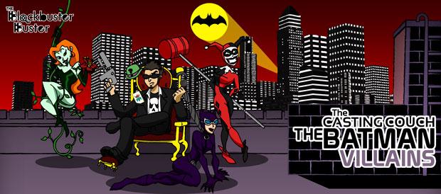 BBB - Casting Couch: Batman Villains by EuJoyuen