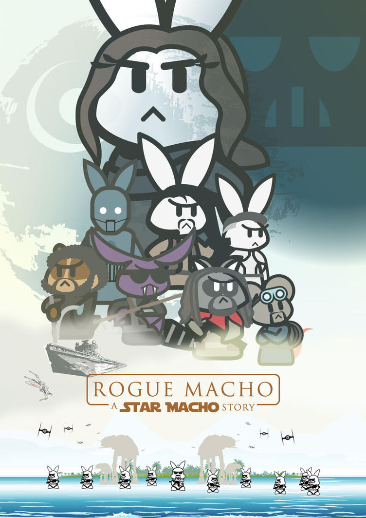 conejitoMACHO: Rogue MACHO by EuJoyuen