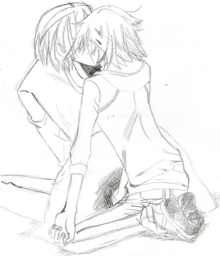 Usagi and Misaki 3 by xandir1lover