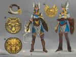 Dragons of Elanthia: Valkyrie Concepts