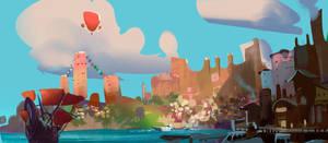 Harbor concept by sketcheth
