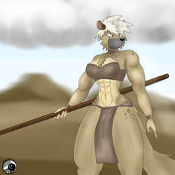 Hyena Amazon Warrior by d831-CALvin