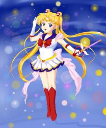 Chibi Sailor Moon by xAlxyz