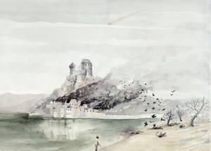 Arya at God's Eye lake