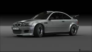 BMW M3 GTR Custom 2 R2