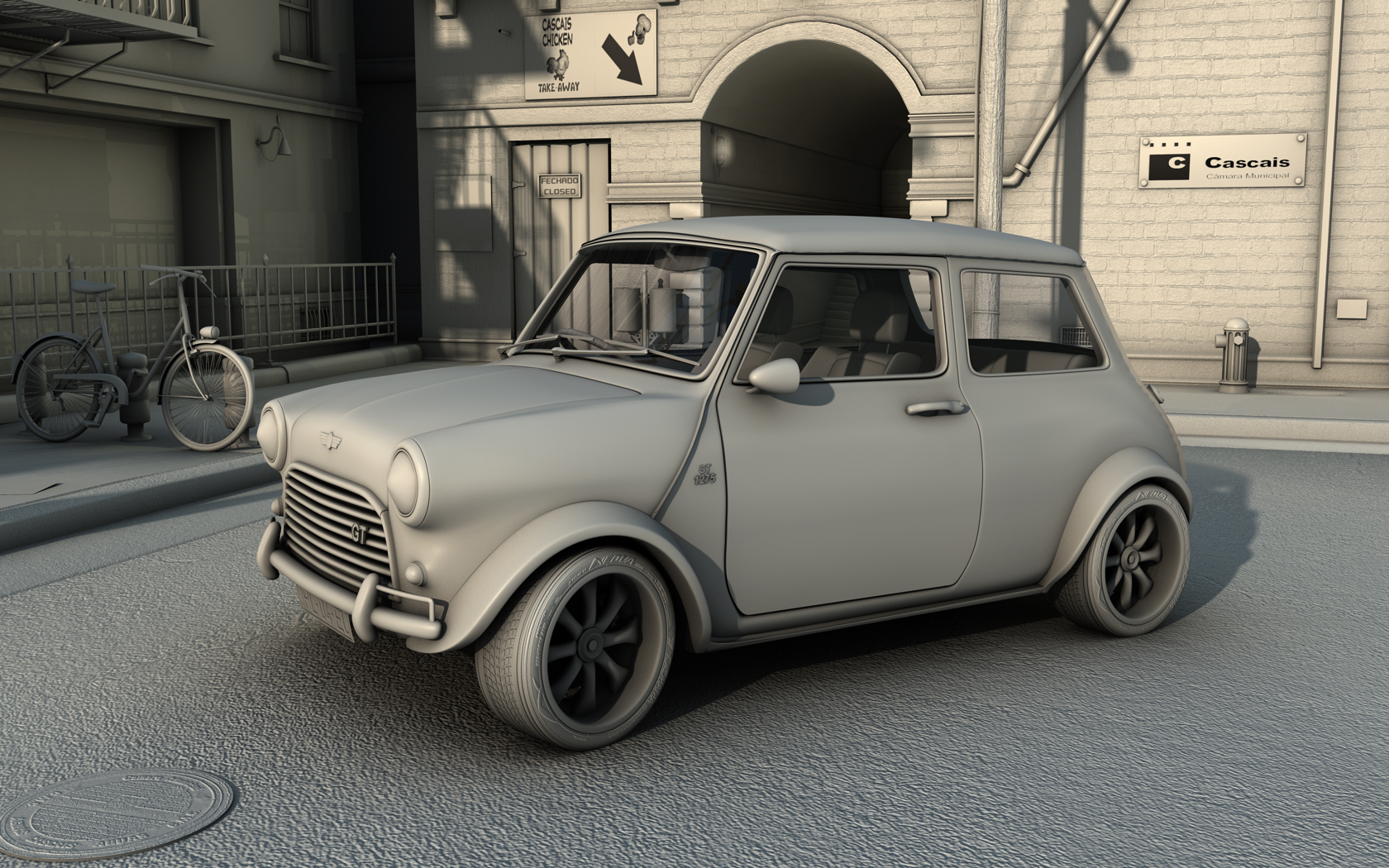 Mini 1275 GT in cascais WIP1 by RJamp