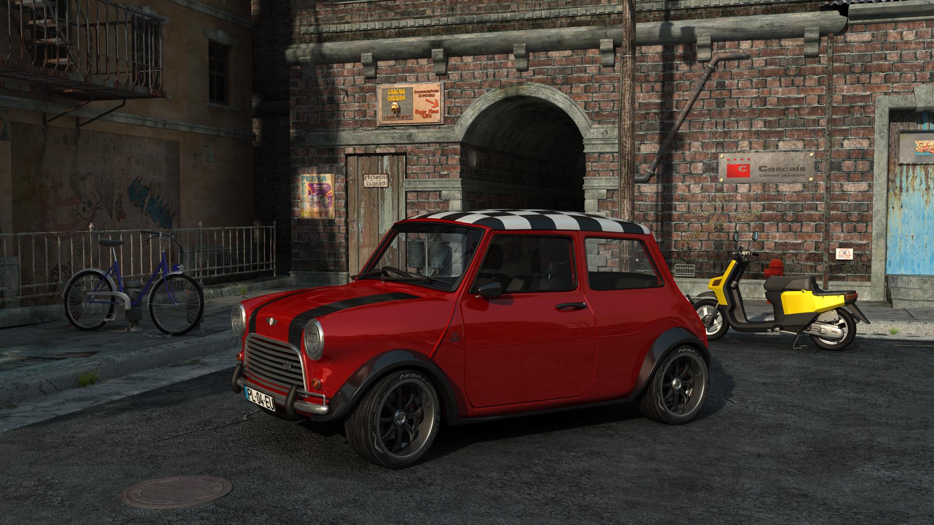 Mini 1275 GT in cascais Final by RJamp