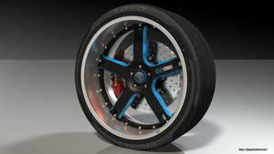 Enkei wheel R1 by RJamp
