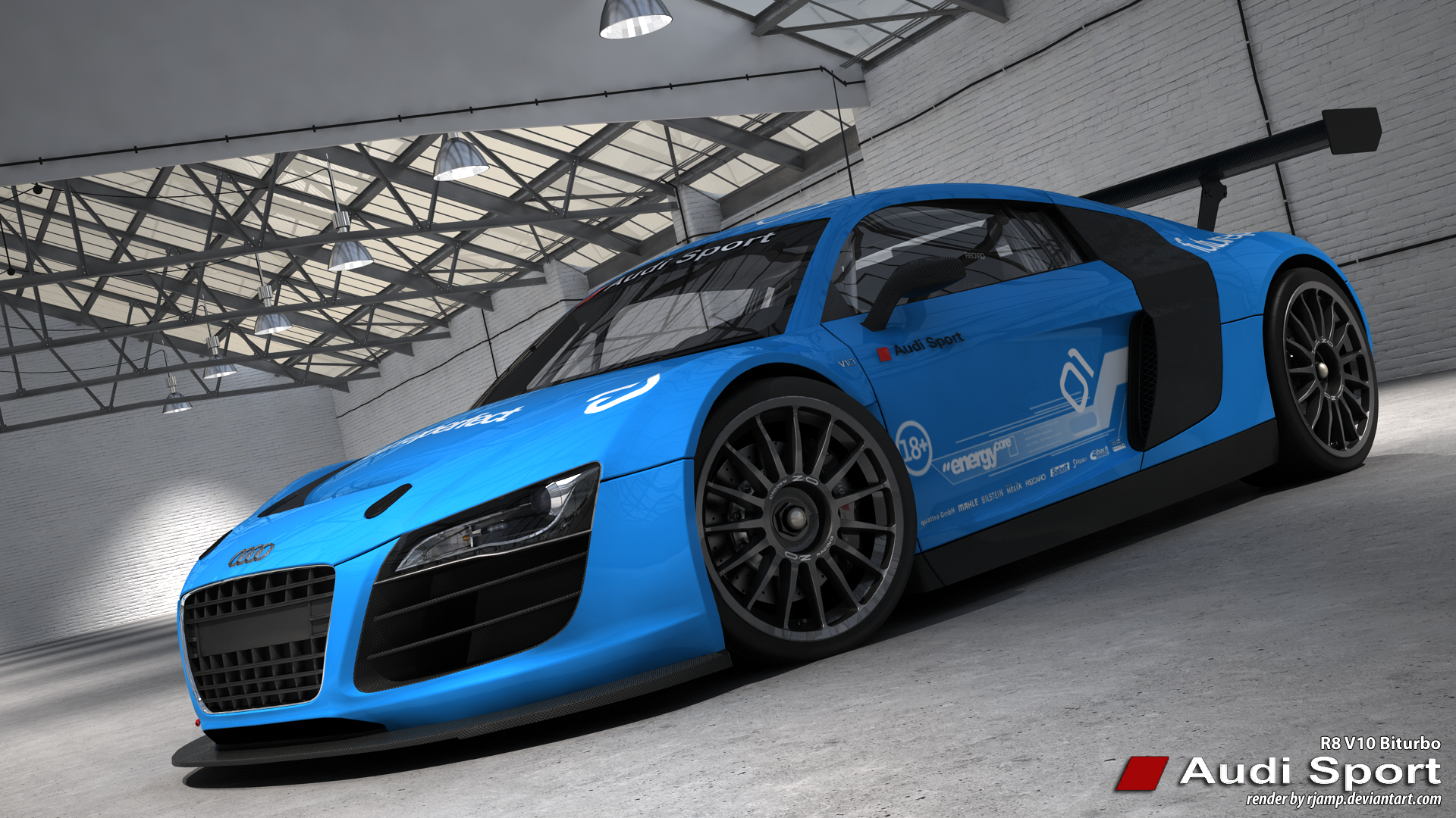Audi R8 V10 biturbo R1 by RJamp