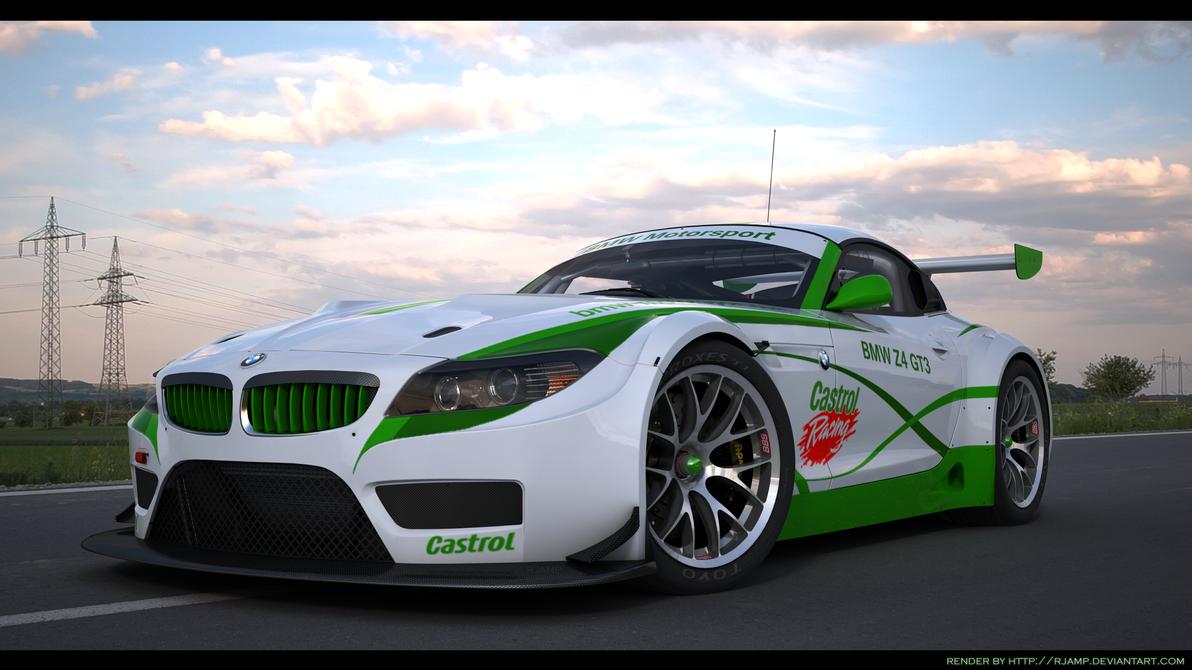Bmw Z4 Gt3 Custom Castrol Racing 2 By Rjamp On Deviantart