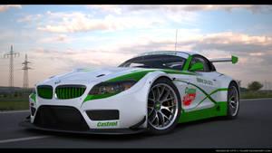 BMW Z4 GT3 Custom Castrol racing 2