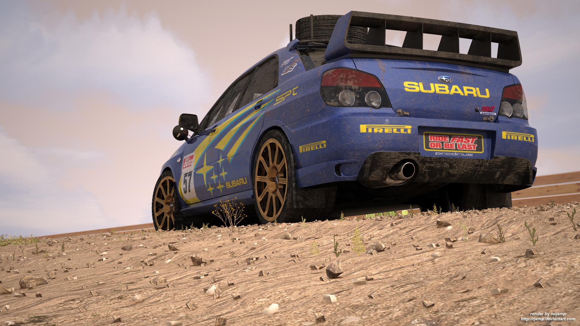 Subaru WRXSti rally edition4 by RJamp