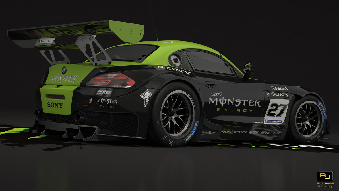 Bmw Z4 Gt3 Monster Studio 2 By Rjamp On Deviantart