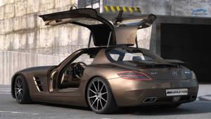 Mercedes SLS AMG 3