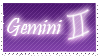 Gemini Stamp by Xhilyn
