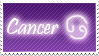 Cancer Stamp by Xhilyn