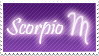 Scorpio Stamp