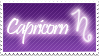 Capricorn Stamp by Xhilyn