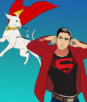 krypto and conner by sinyong