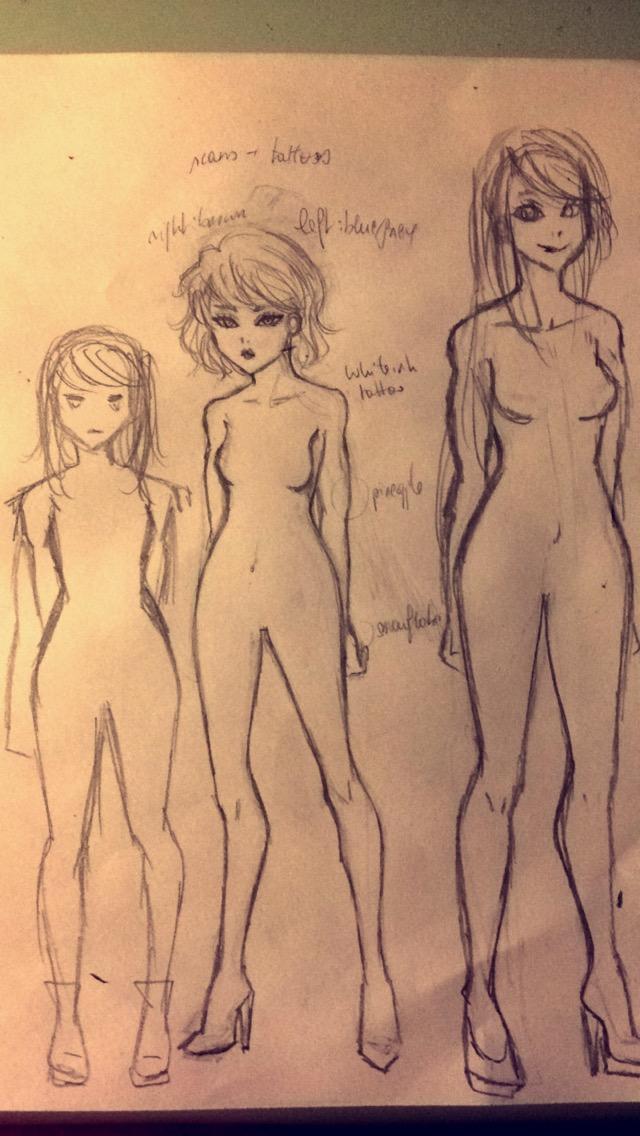 Sketch Gabz by KiGaMin