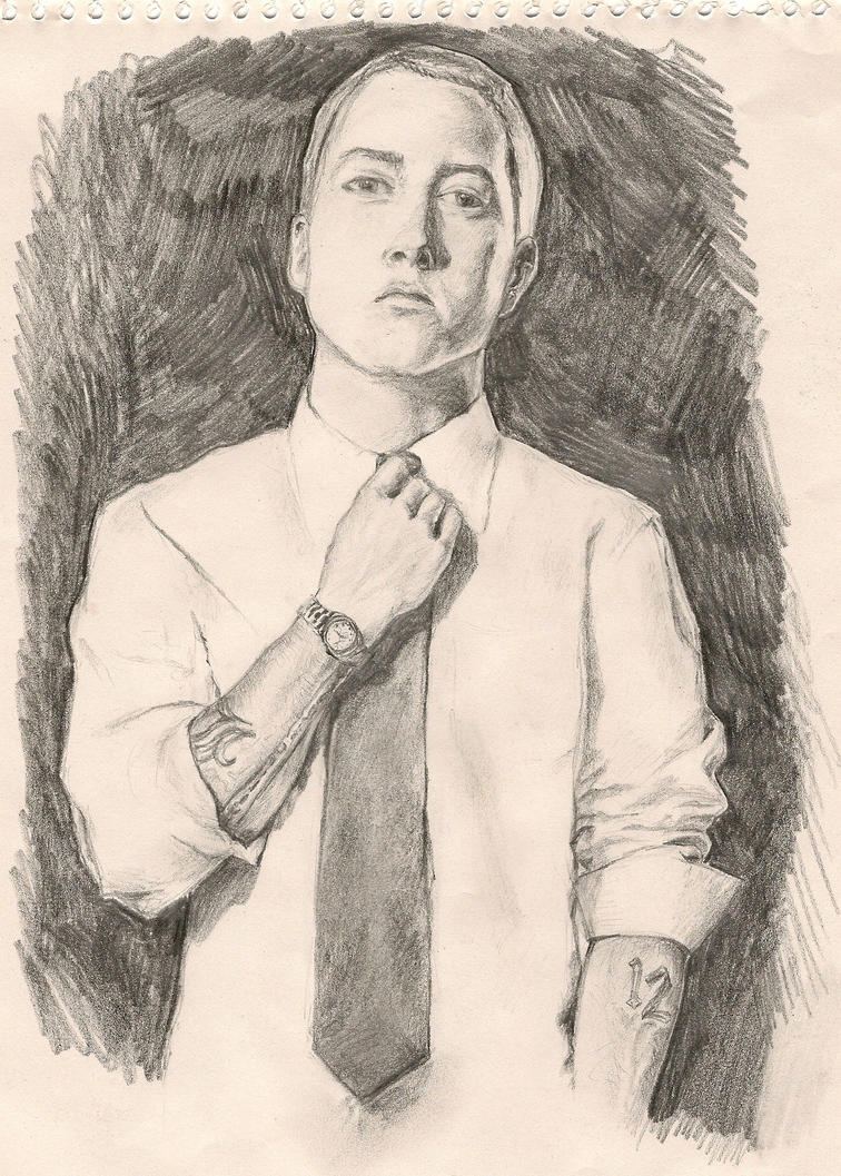Eminem Drawing by TheMoho