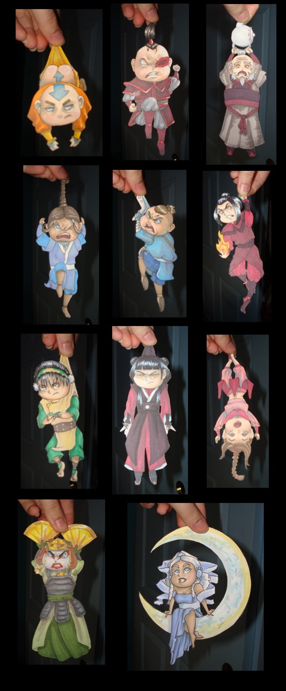 Avatar Paper Children by ShotzgoBoom