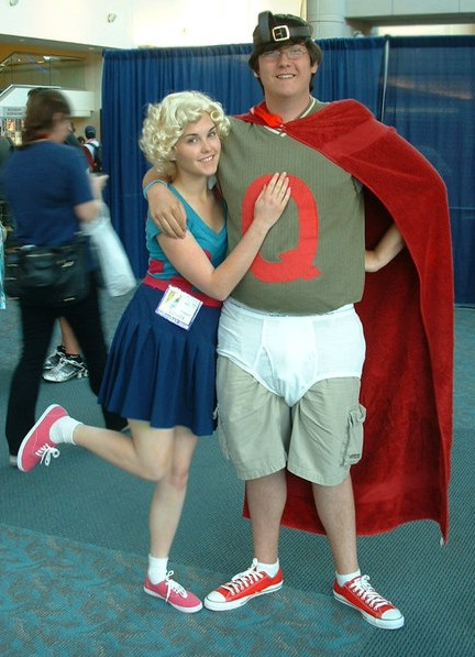 My hero by ShotzgoBoom on DeviantArt Quailman And Patty Mayonnaise