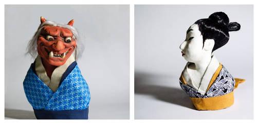 Edo sculptures by ShotzgoBoom