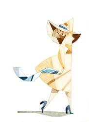 Big Hat on a Breezy Day by ShotzgoBoom