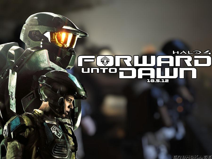 Halo 4 Forward Unto Dawn Wallpaper By Gr8hokage On Deviantart