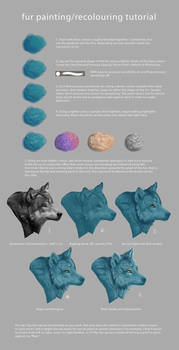 Fur Painting/Recolouring Tutorial