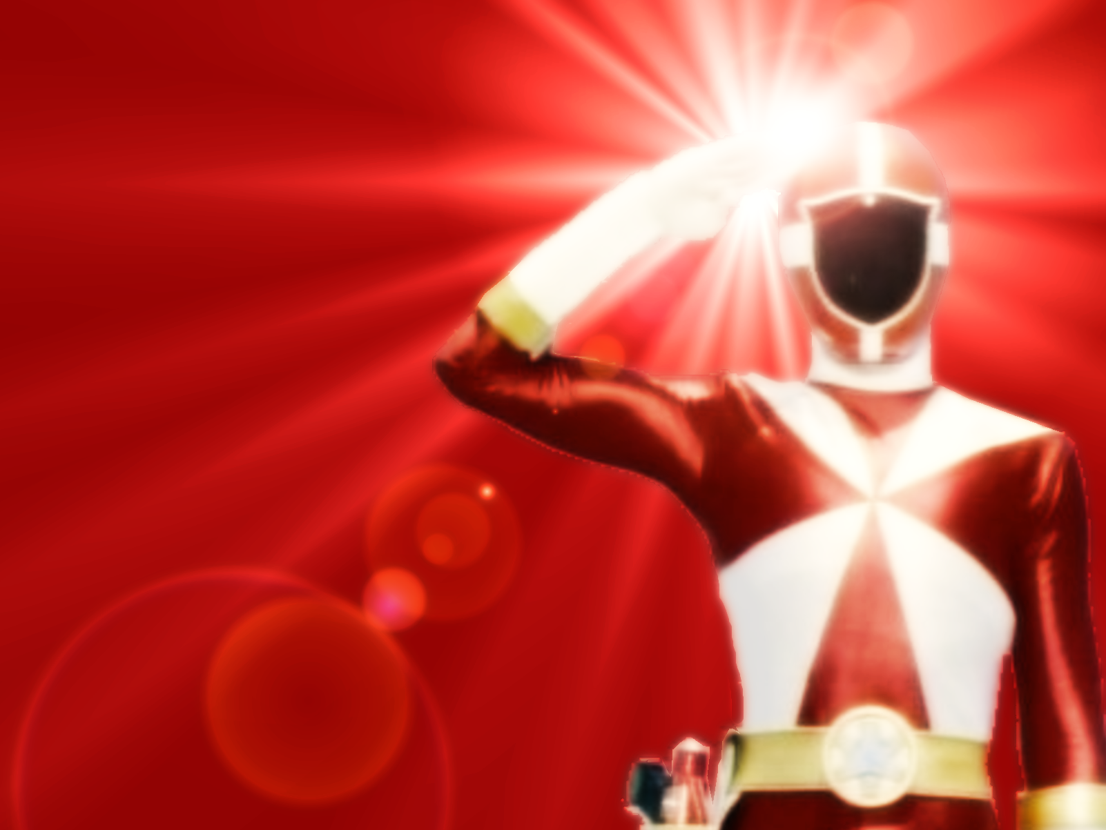 Lightspeed Red Ranger Wallpaper By SailorTrekkie92