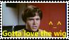 Chekov Wig stamp by SailorTrekkie92