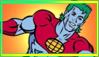 Captain planet Stamp by SailorTrekkie92