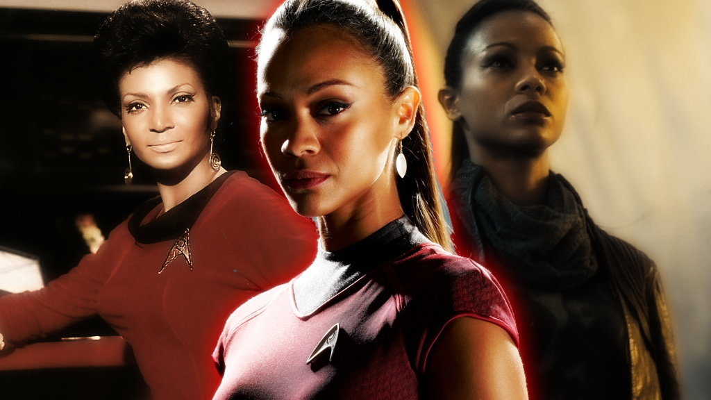 Uhura Reborn Wallpaper by SailorTrekkie92